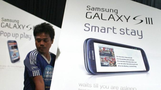 Pembeli pertama Galaxy S III antre sedari subuh