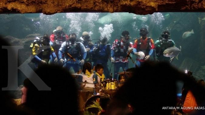 Wisata edukasi akuarium laut, berikut harga tiket masuk Sea World