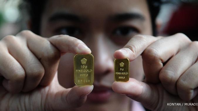Pekan depan harga emas turun