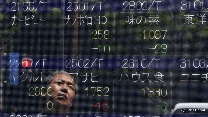 Bursa Asia rebound setelah lima pekan melorot