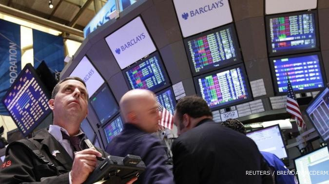 Pasar optimis, Wall Street mendarat di zona hijau