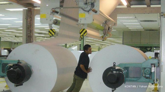 Pabrik kertas Basuki Rachmat berniat efisiensi