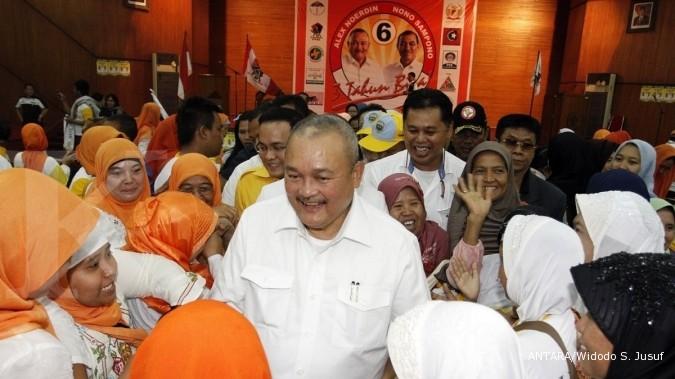 Tiga menteri tinjau proyek Asian Games Palembang