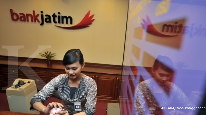 Kuartal 3, bunga kredit Bank Jatim turun 100 bps