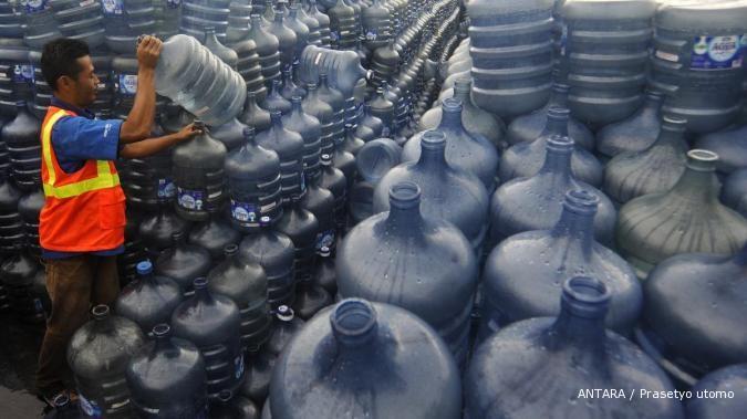 Aspadin minta distribusi air kemasan di perlonggar