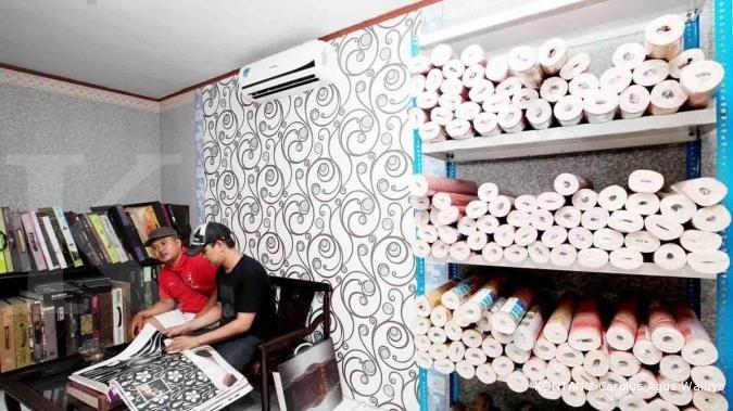 Lembaran kertas dinding yang menghasilkan untung