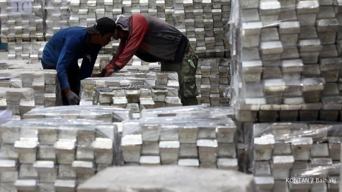 TINS kurangi penjualan timah ke pasar spot