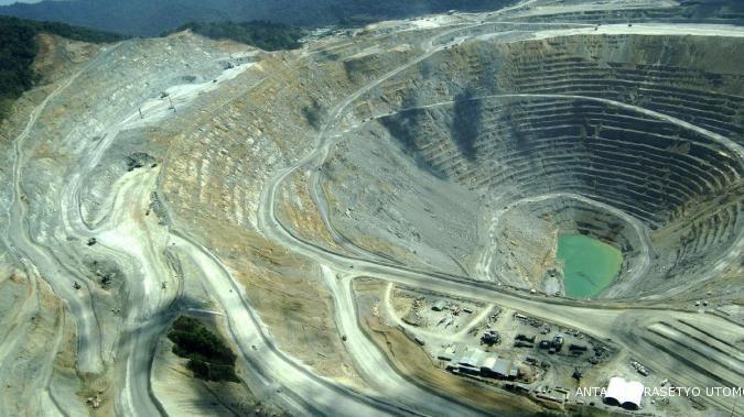 Produksi emas Newmont 2013 bisa pulih