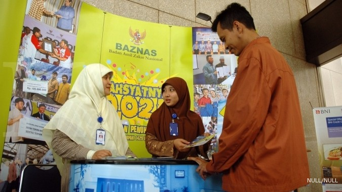 Baznas launches digital alms payment machine called M-Cash
