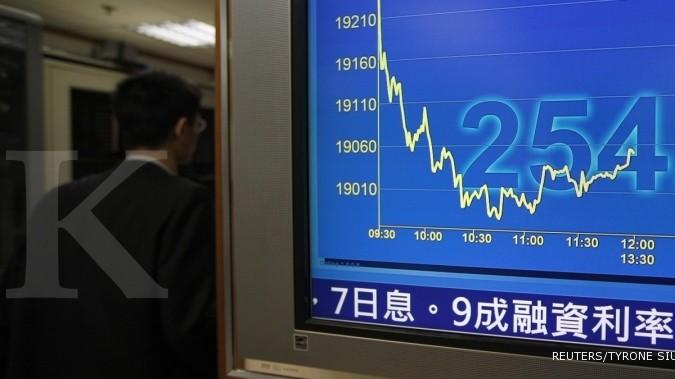 Bursa Asia menunggu hasil fiscal cliff