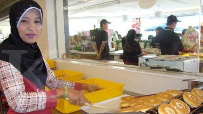 Rosidah berambisi bisnis donatnya sebesar J.Co