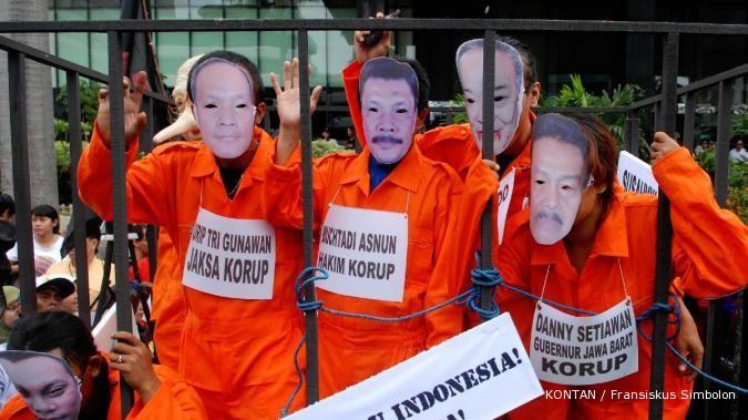 Hasil gambar untuk hukuman untuk koruptor