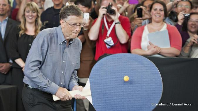 Bill Gates jadi orang terkaya AS versi Forbes