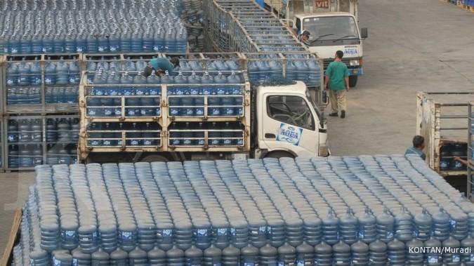 Beban Produksi Naik, Aqua Belum Kerek Harga Jual