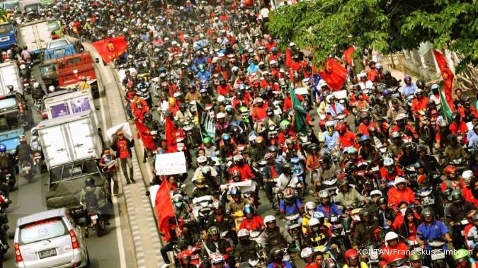 Saung Buruh, simbol perjuangan kaum pekerja