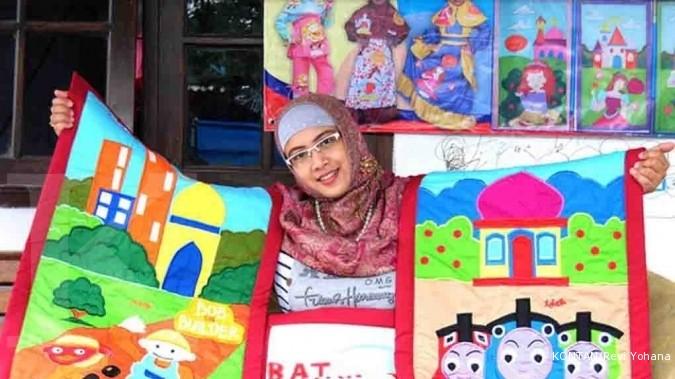 Anita sukses bisnis perlengkapan shalat anak (1)