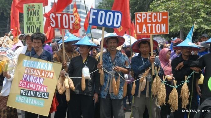 Pasar modern dilarang di sentra pertanian