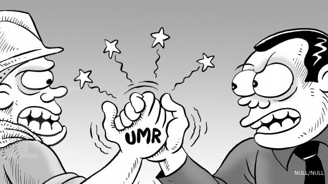 Rapat penetapan UMP Jakarta gagal