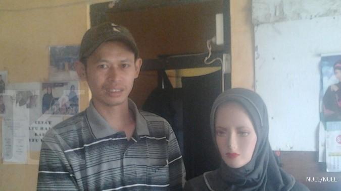 Berdayakan warga lewat usaha pembuatan jilbab