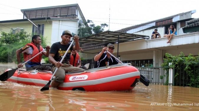 Banjir Jakarta menelan korban jiwa