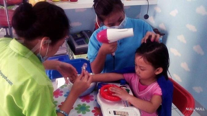 Menjajal peluang bisnis spa anak