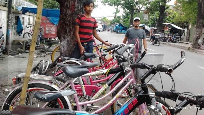 Sentra Sepeda Bekas: Berburu sepeda murah (1)