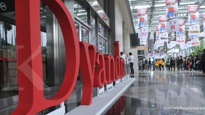 DYAN Dyandra Media Internasional (DYAN) optimistis capai pertumbuhan 6% tahun ini