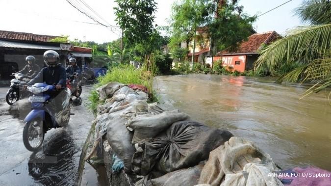 Sebagian Jakarta masih terendam banjir