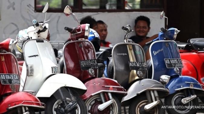 Yogyakarta diserbu ribuan penggemar Vespa