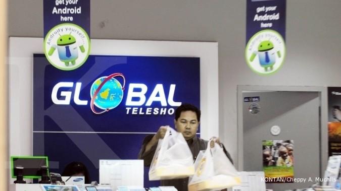 GLOB Sedang diawasi BEI, harga saham Global Teleshop (GLOB) merosot 23%