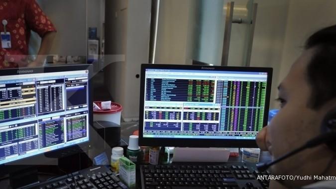 Tiga saham ini menggerus kinerja IHSG sesi I