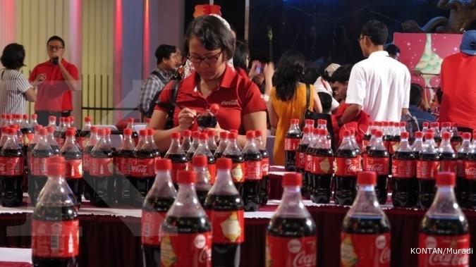 Saham Coca Cola Diburu Investor