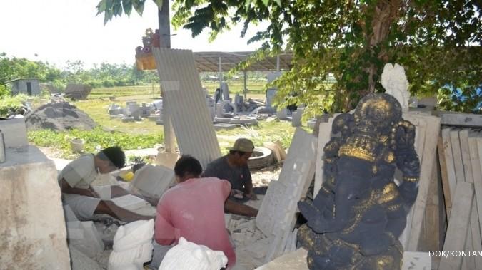 Pasokan batu datang dari Yogyakarta & Bali (2)