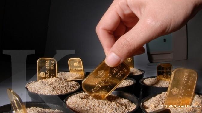 Arah harga emas menunggu The Fed