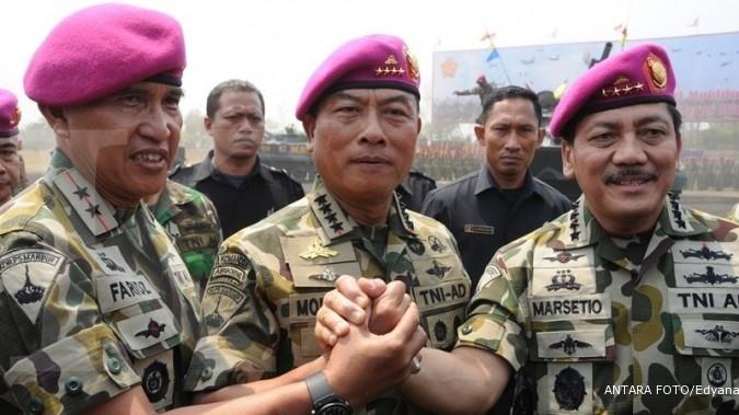 DPR setuju remunerasi TNI di 2014 naik 20%