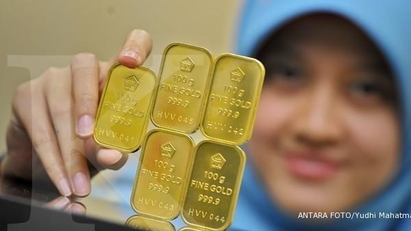 Harga Emas Antam 1 Gram Hari Ini Turun Rp 2000