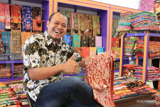 Ibnu juragan batik termuda asal Cirebon 575ef318eb