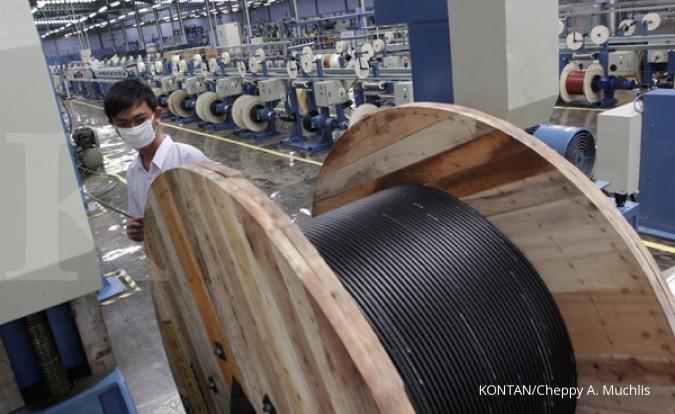 Penjualan Jembo Cable mayoritas ke PLN