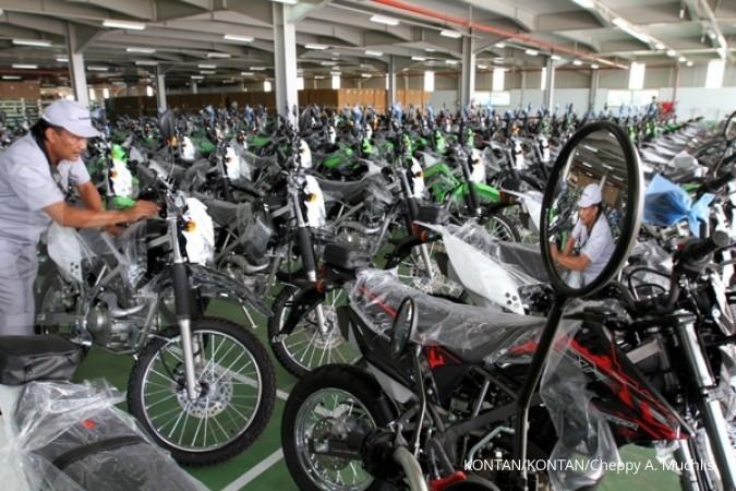Ekspor sepeda motor terus digelontor