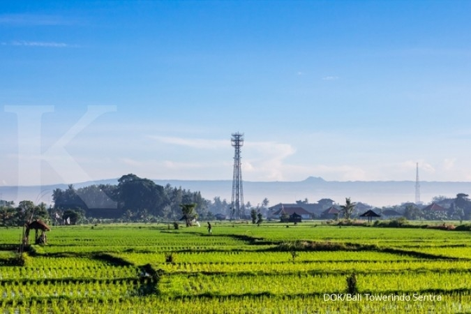 Micro cell pole dongkrak pendapatan Bali Towerindo Sentra (BALI) di semester I-2018