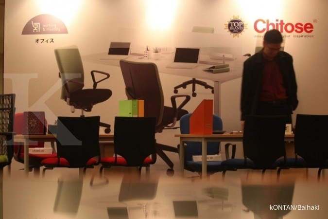 CINT Chitose Internasional (CINT) menilai bisnis furnitur perkantoran akan makin menantang