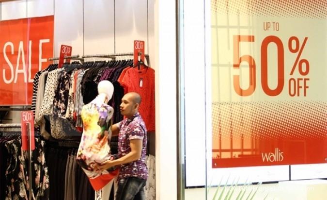 Mulai hari ini, mall-mall di Jakarta obral diskon