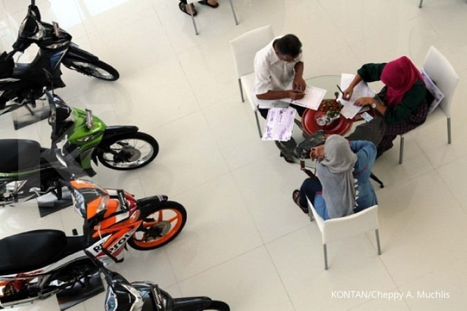 Penjualan sepeda motor anjlok