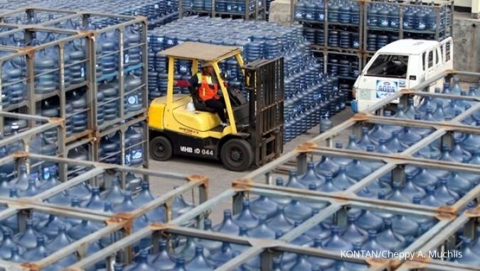 Distributor Aqua bantah dalil KPPU