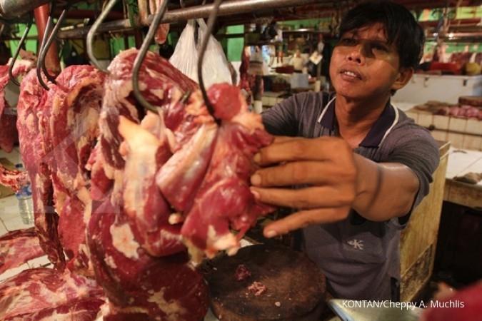 Jika harga daging stabil, Bulog tidak impor kerbau