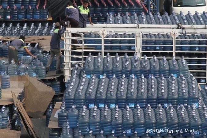 Pabrik Aqua di Pasuruan genjot produksi