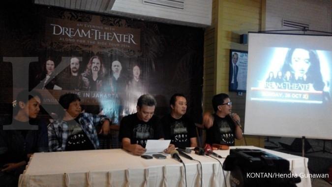 Band cadas Dream Theater siap guncang Yogyakarta