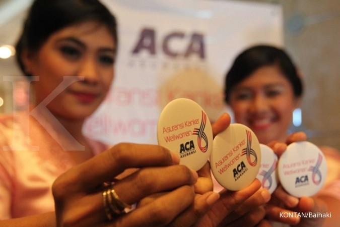 September, premi ACA susut 5% jadi Rp 1,8 triliun
