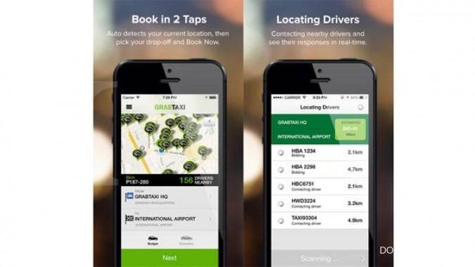 Promo taksi gratis dari GrabTaxi