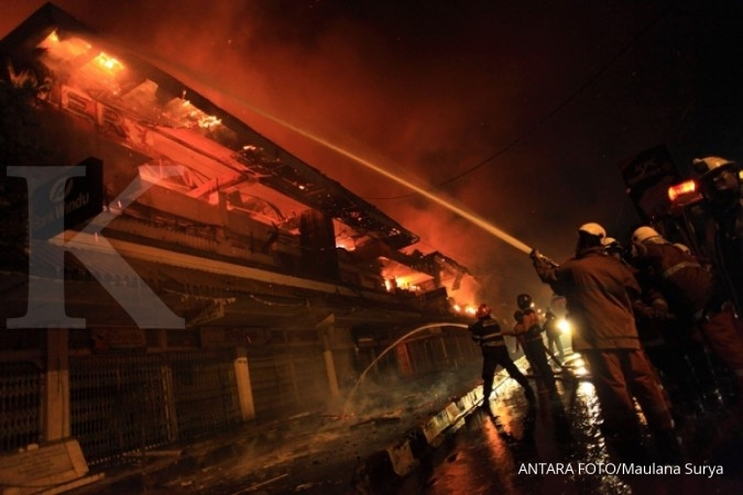 Kebakaran Pasar Klewer berefek ke batik Pekalongan 3a608fe959